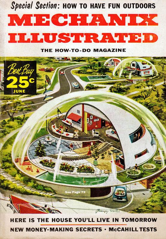 "Cover of ""Mechanix Illustrated"", June 1957"
