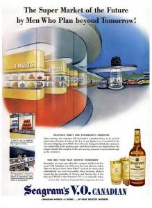 "Seagrams Advert (""Life"", September 9th 1945)"