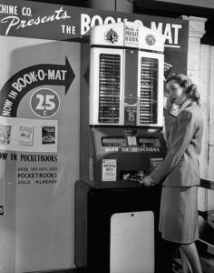 "Pocket Book Vending Machine (c.1960), via ""BoingBoing"""
