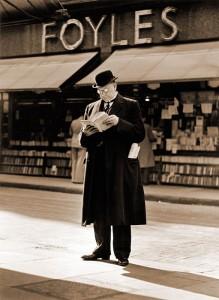 Foyles, Charing Cross Road, London (c/o Christopher Fowler's blog)